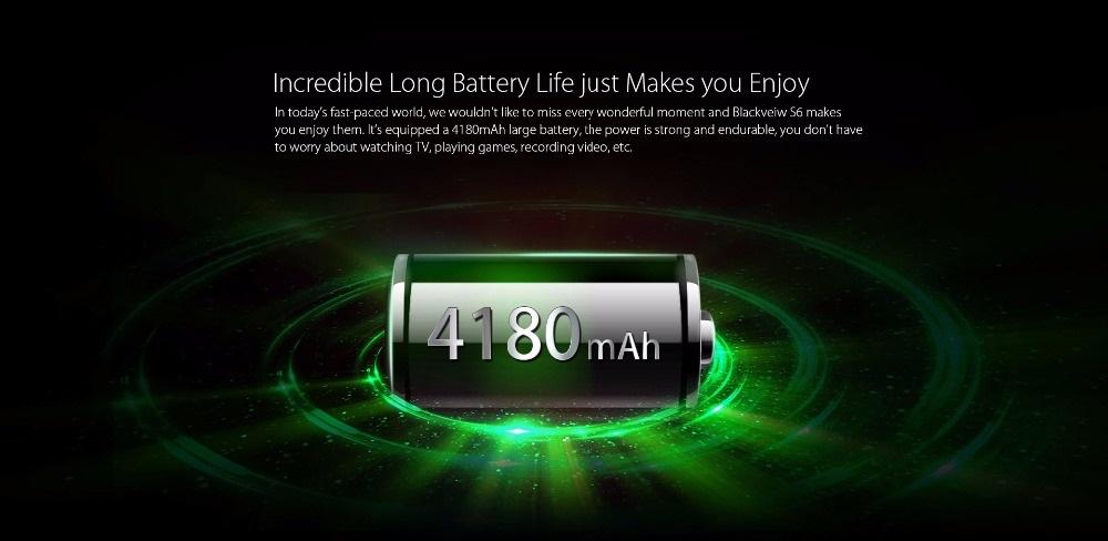 Blackview S6 - Batería