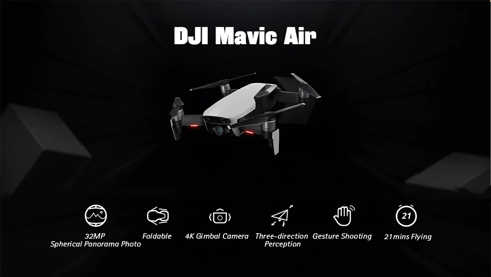 DJI Mavic Air RC Drone destacada