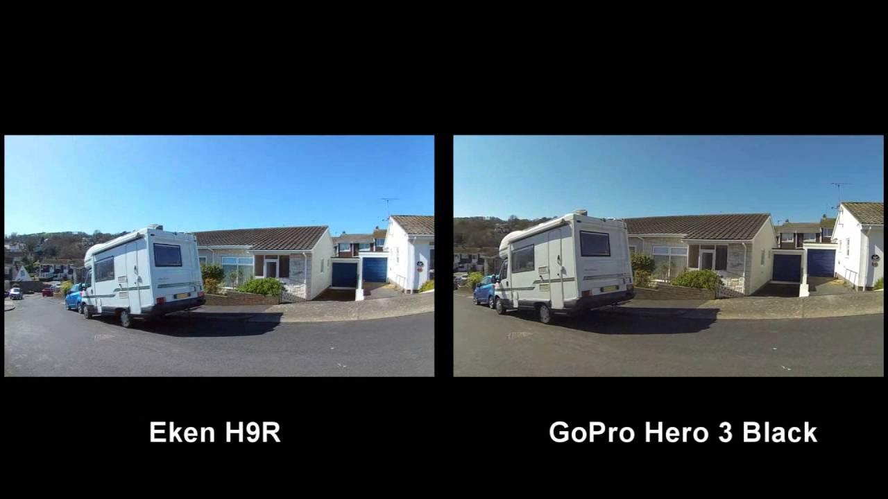 Eken H9R vs GoPro