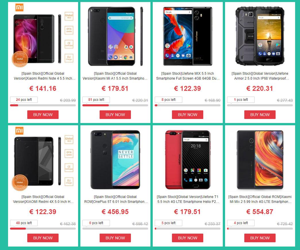 Geekbuying ofrece excelentes descuentos en productos Xiaomi para España y Europa (2)