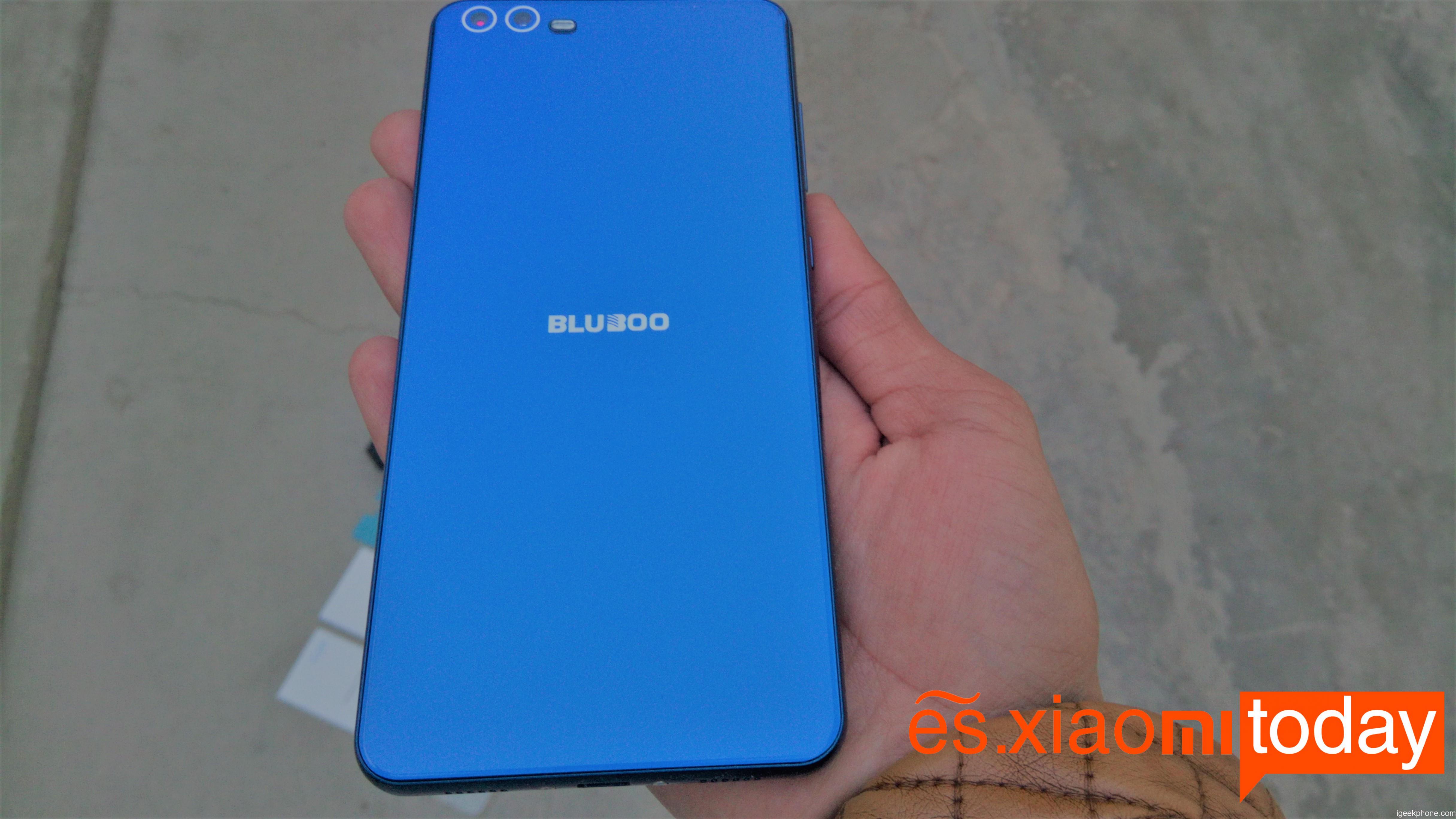Bluboo D2 - Diseño