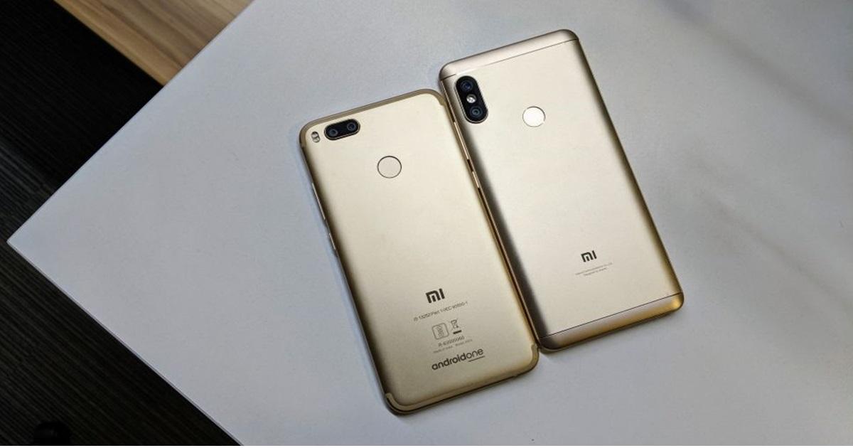 Comparación: Xiaomi Mi A1 vs Xiaomi Redmi Note 5 Pro