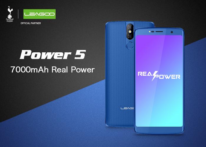LEAGOO Power 5 de 7500mAh soportará carga inalámbrica de 7.5W