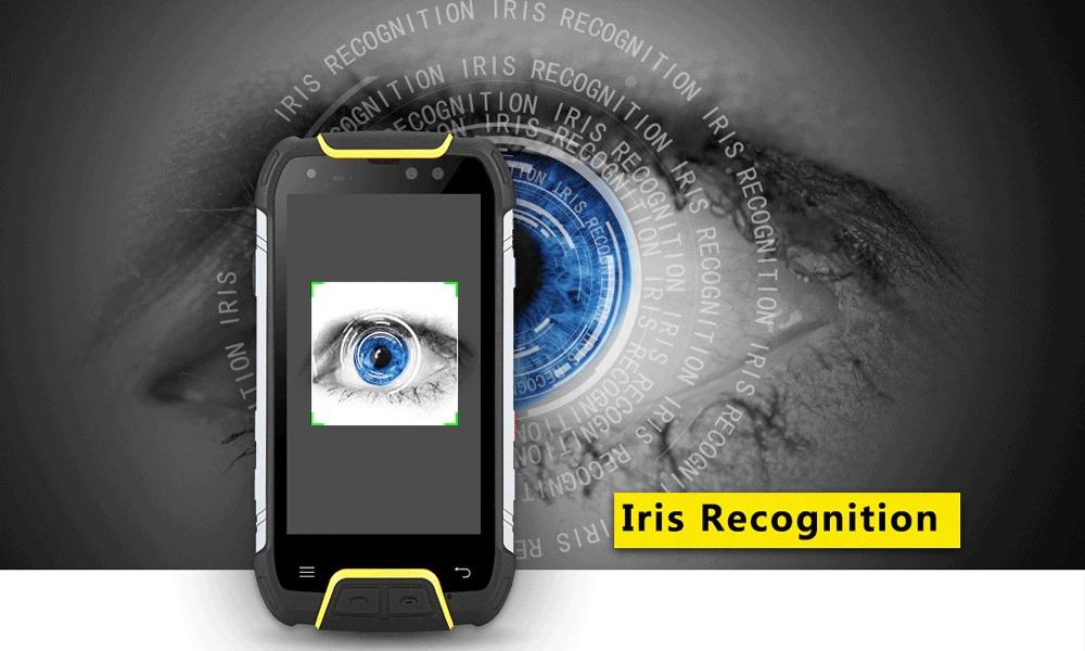 SNOPOW M10W - reconocimiento de iris