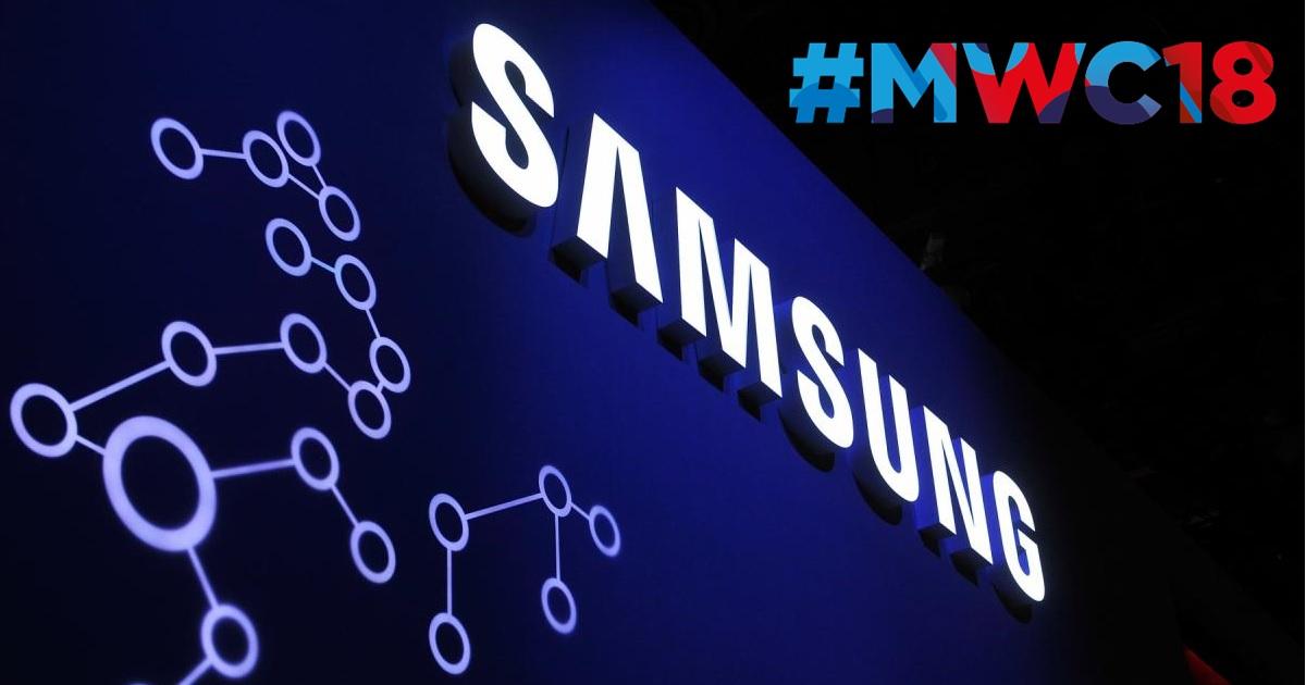 MWC 2018: Samsung