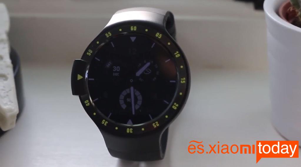 Ticwatch S conexiones inalámbricas