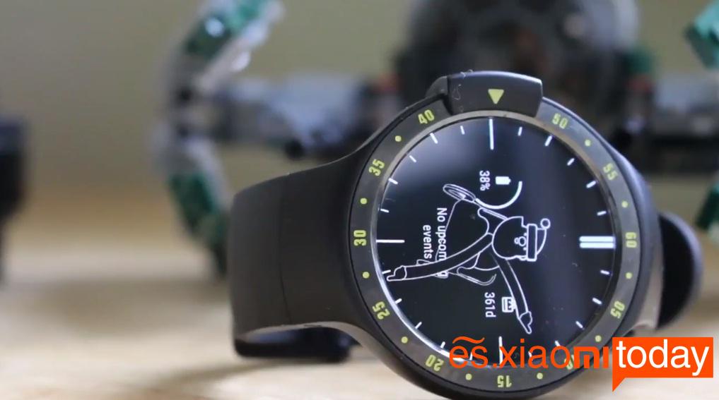 Ticwatch S pantalla