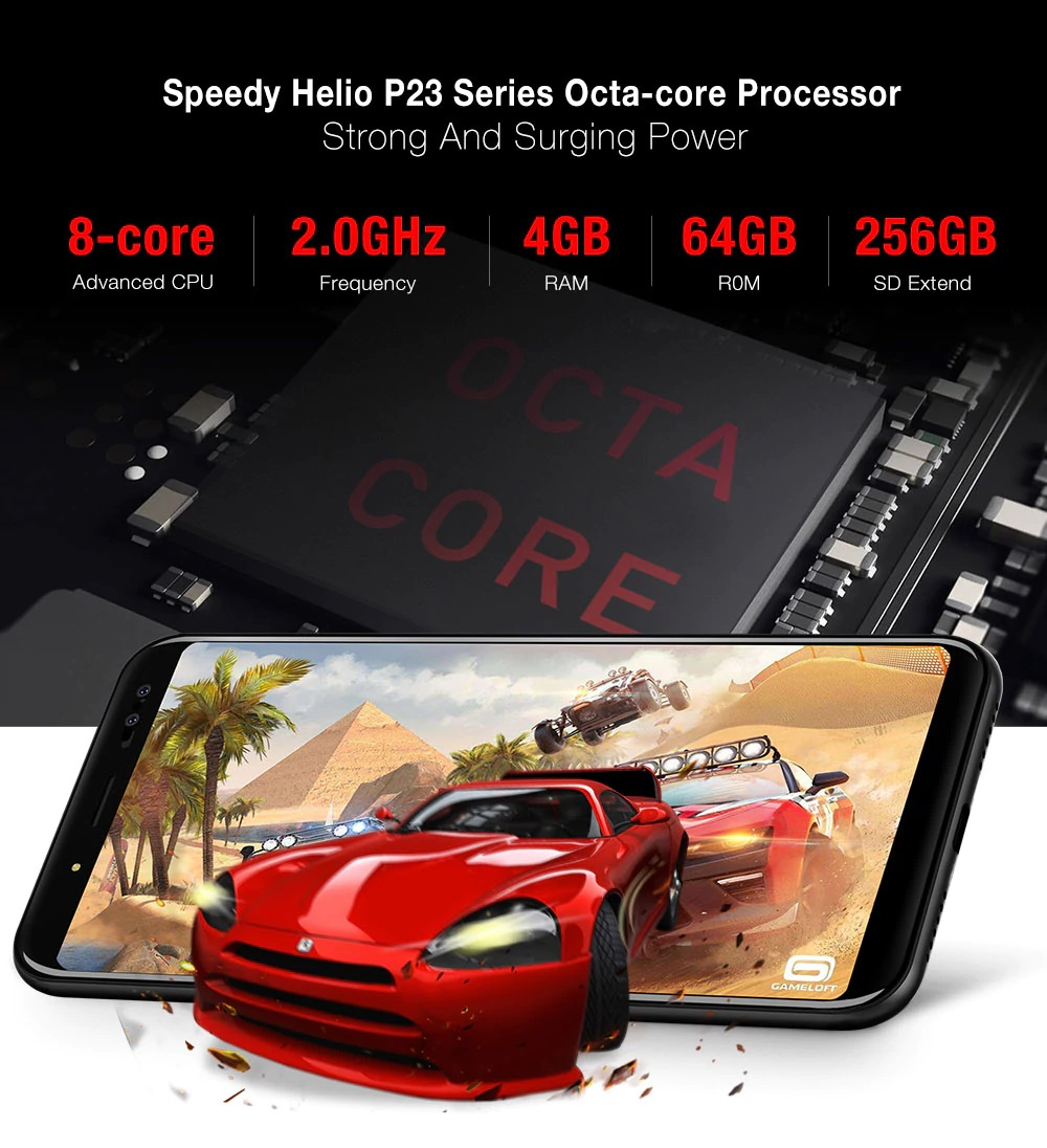 Ulefone Power 3S - Hardware