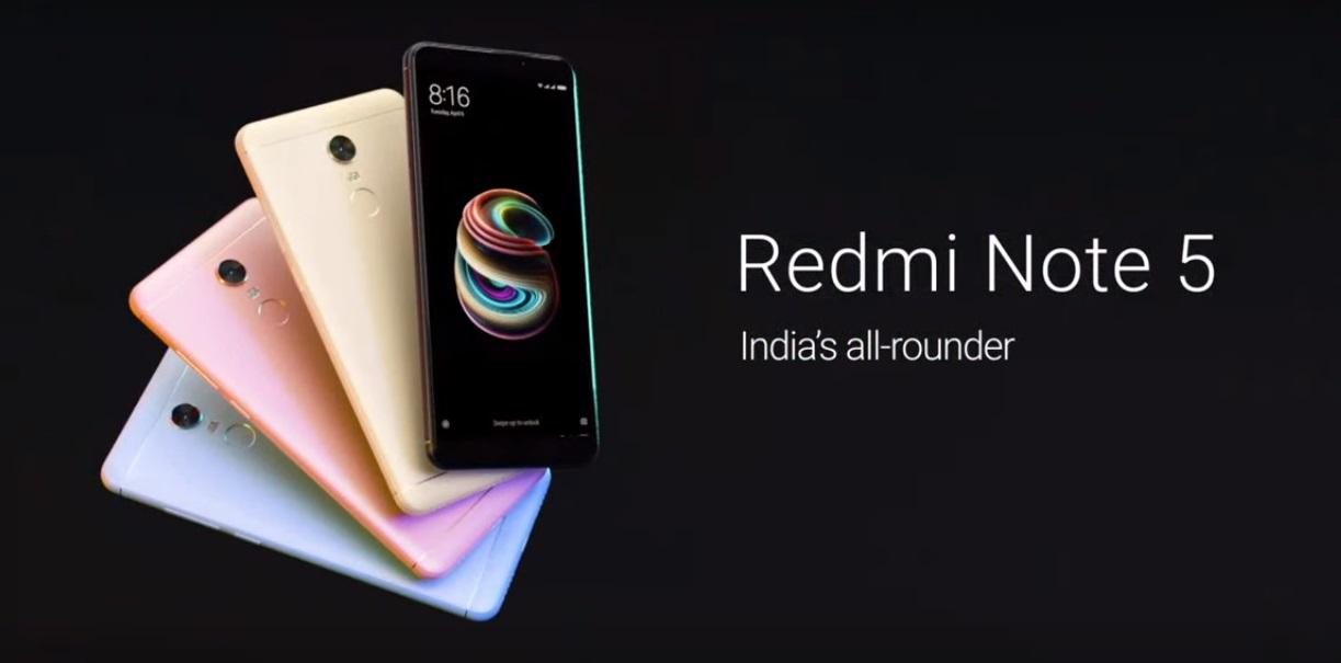 Xiaomi Redmi Note 5 Lanzamiento Oficial