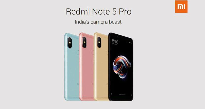 Especificaciones del Xiaomi Redmi Note 5 Pro