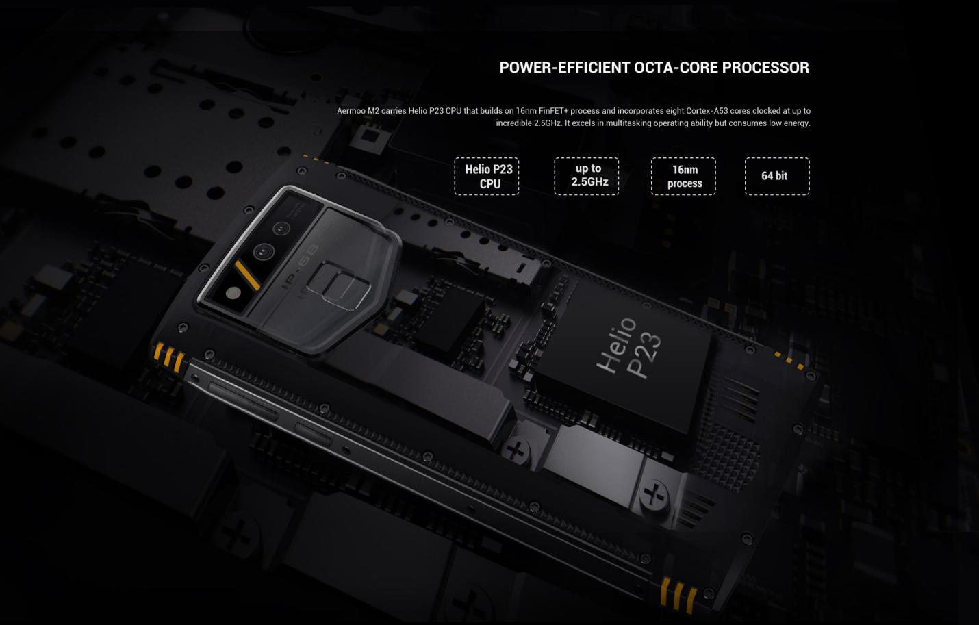 Aermoo M2 procesador