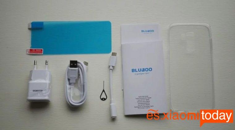 Bluboo S8 Plus Análisis: Unboxing