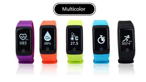 H10 Pro Smart Bracelet colores