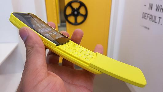 Nueva versión del Nokia 8110