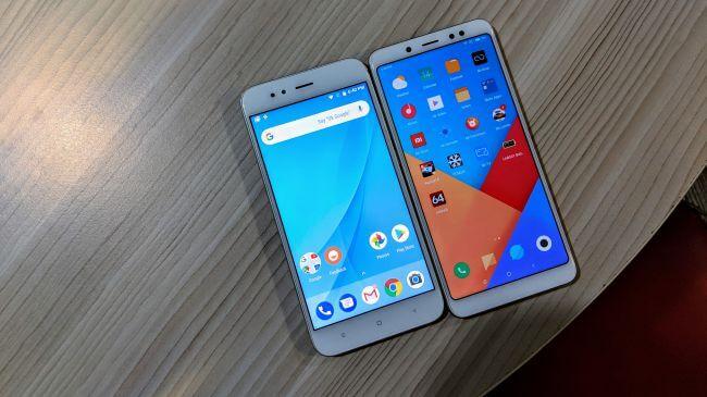 Xiaomi Mi A1 vs Redmi Note 5 Pro: Pantalla