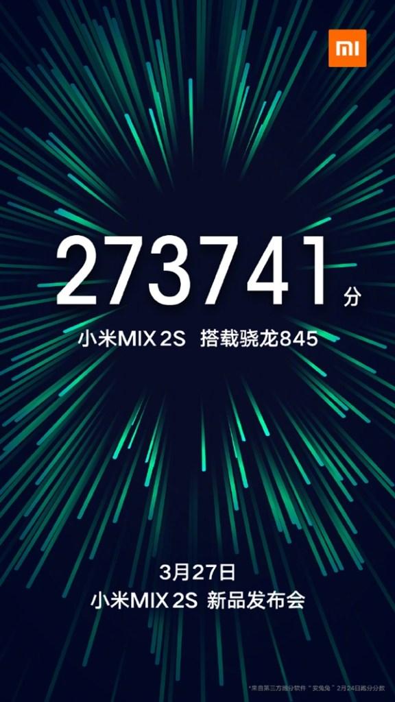 MWC 2018: Xiaomi Mi MIX 2S