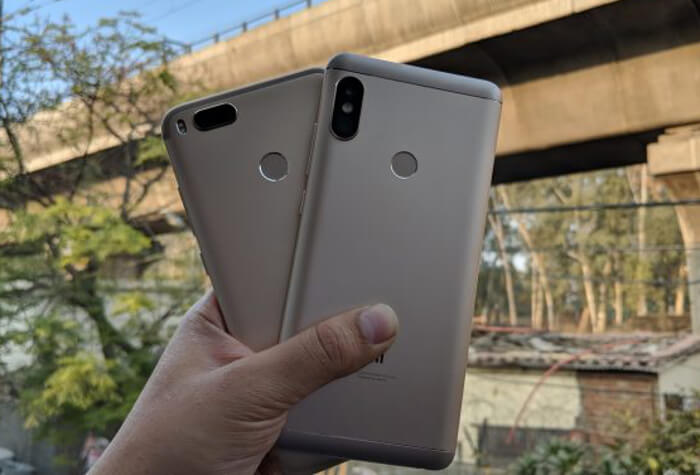 Xiaomi Mi A1 vs Redmi Note 5 Pro: Batería