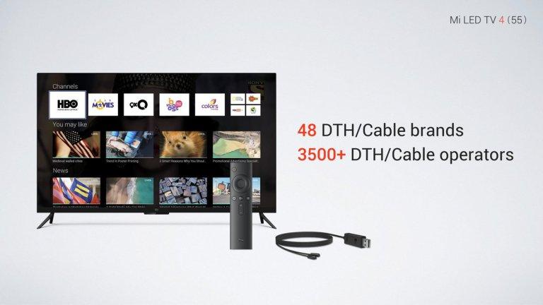 Xiaomi Mi LED TV 4 características