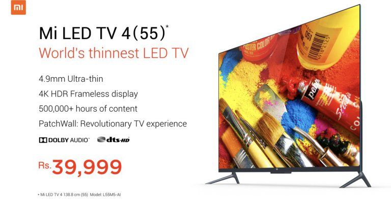 xiaomi-mi-led-tv-4-en-la-india-destacada