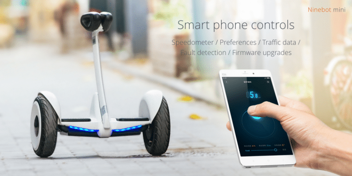 Xiaomi Ninebot Mini sincronización