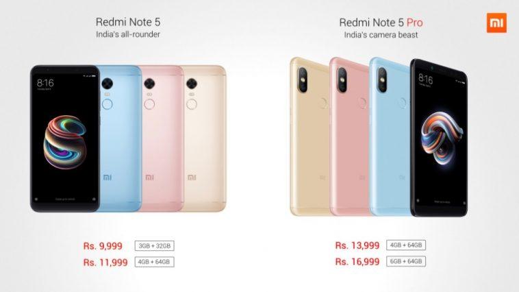 xiaomi-redmi-note-5-note-5-pro-india-destacada