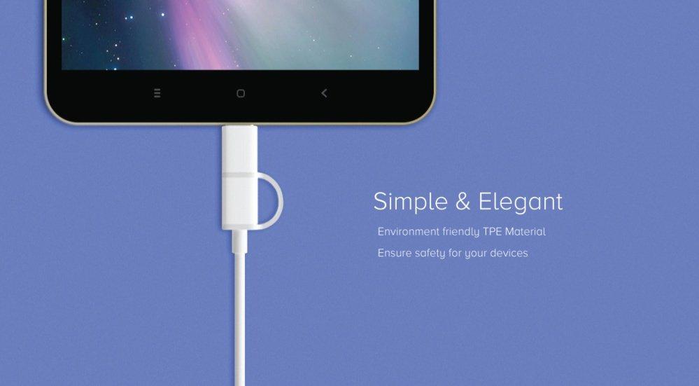 Xiaomi Mi Cable 2 en 1 - Características resaltantes