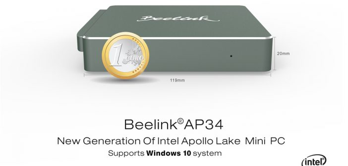 Beelink AP34 Mini PC - Especificaciones