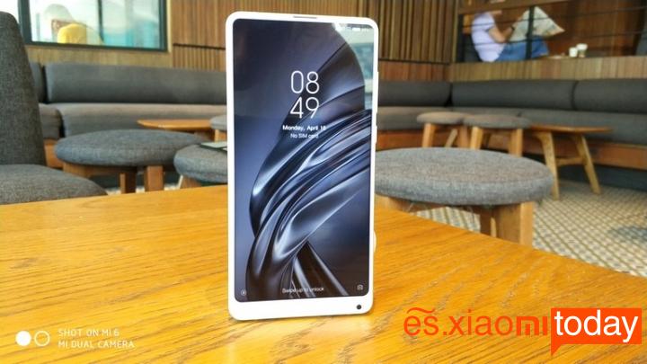 Xiaomi Mi MIX 2S Análisis - Diseño