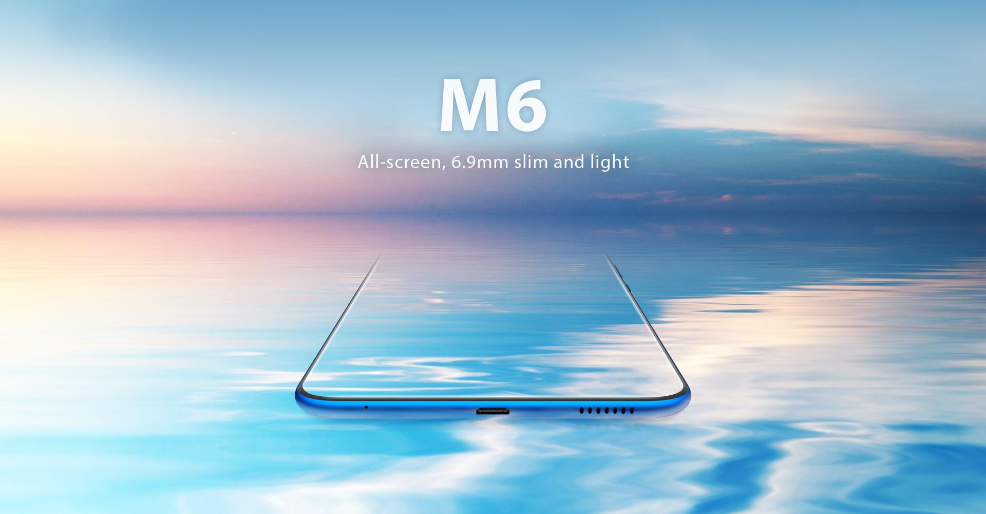 Vernee M6 - Diseño