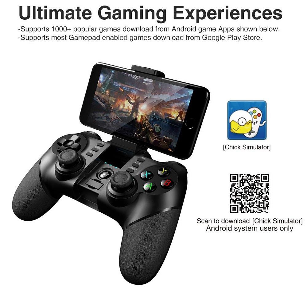 iPega PG-9077 - Juegos compatibles