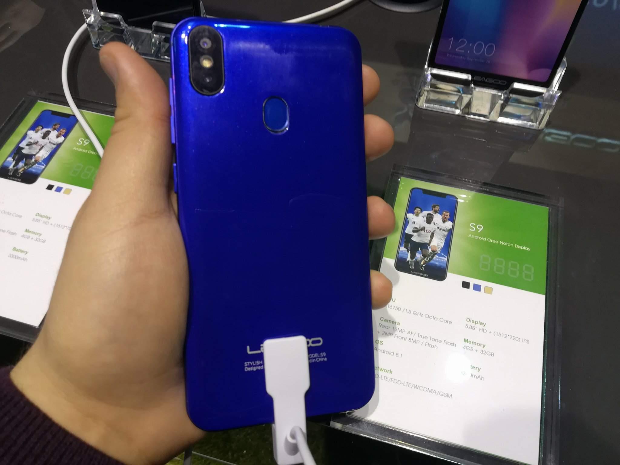 MWC 2018: Leagoo S9