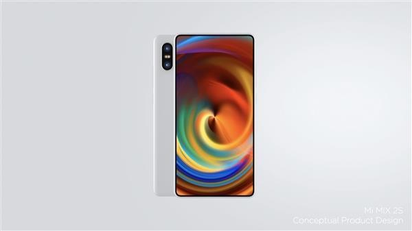 Xiaomi Mi MIX 2S diseño