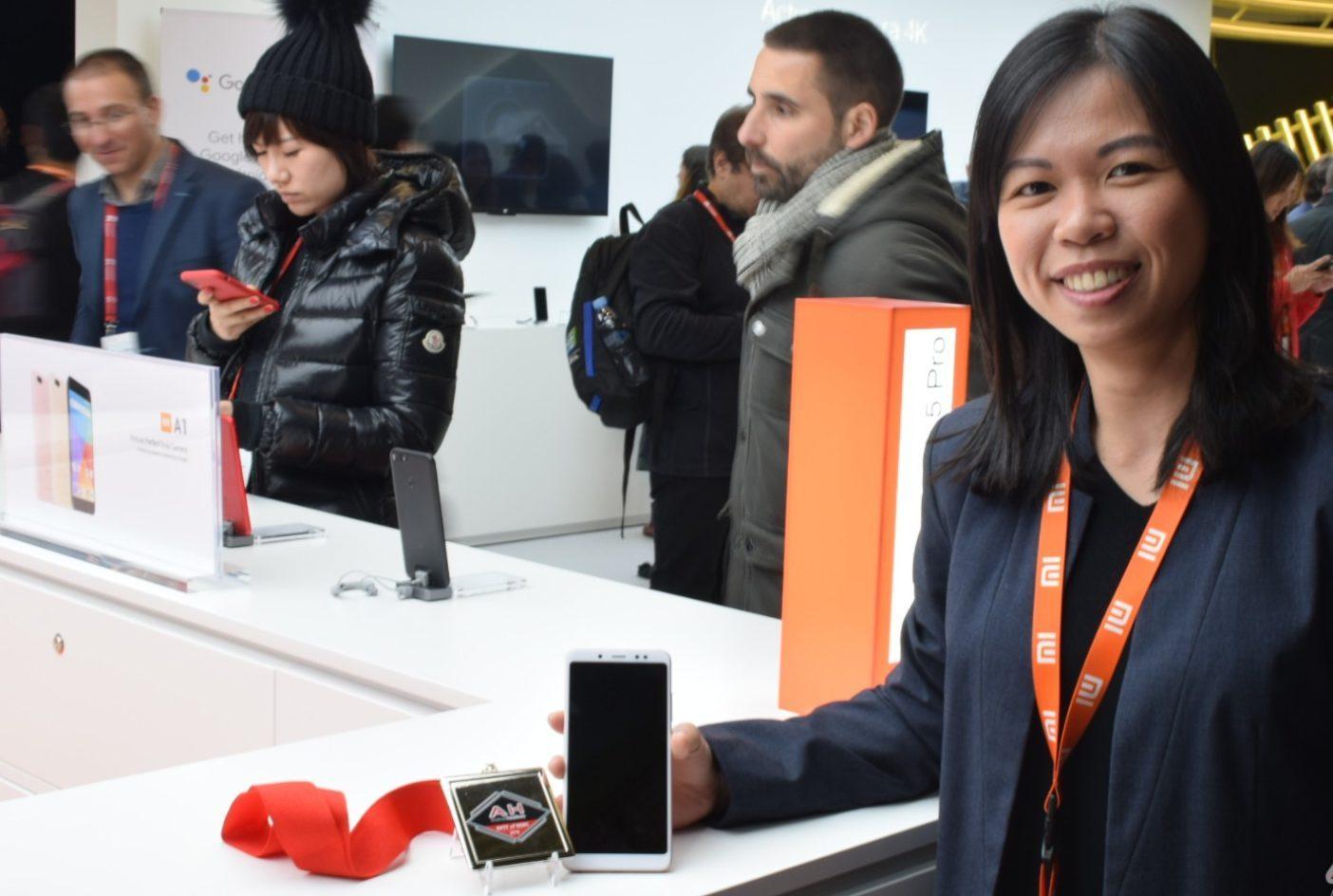 Xiaomi Redmi Note 5 Pro galardonado por AndroidHeadlines en MWC 2018