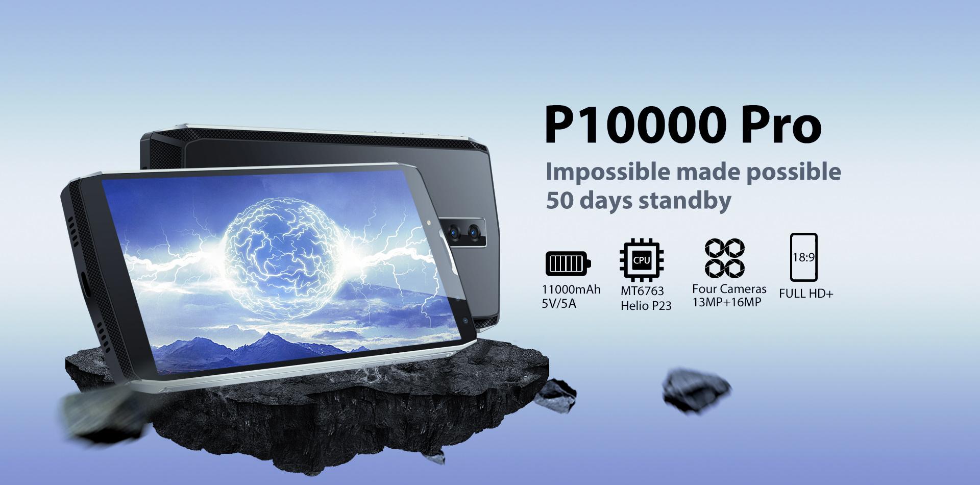 Promoción de descuento por la preventa del Blackview P10000 Pro