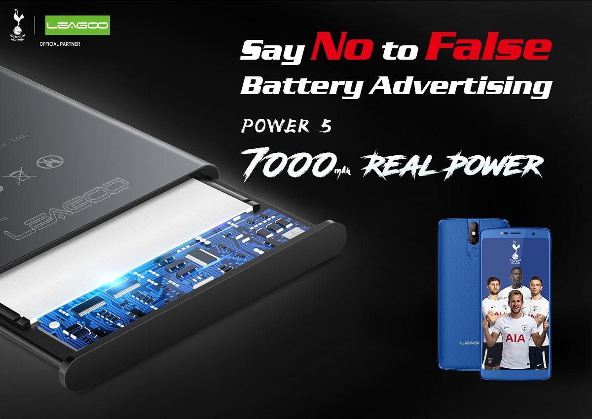 LEAGOO Power 5 - duración de batería certificada