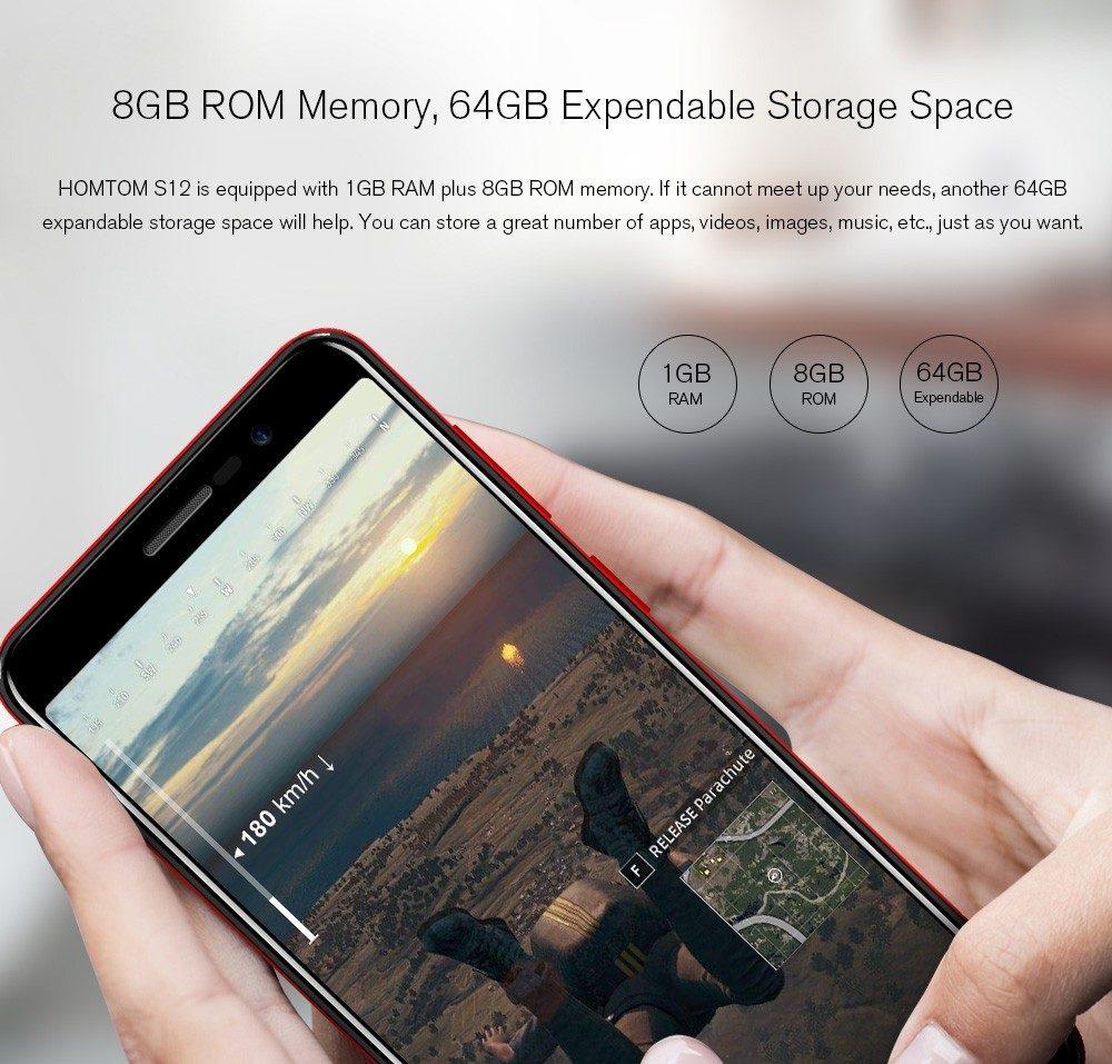HOMTOM S12 - Hardware y rendimiento