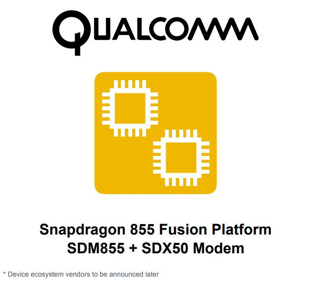 Plataforma Snapdragon 855 Fusion Reporte