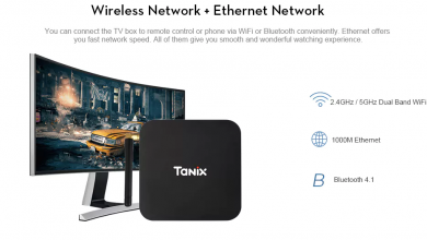 Tanix TX28 TV Box Conectividad