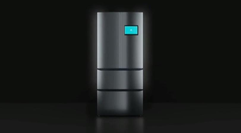 Viomi Smart Refrigerator pantalla