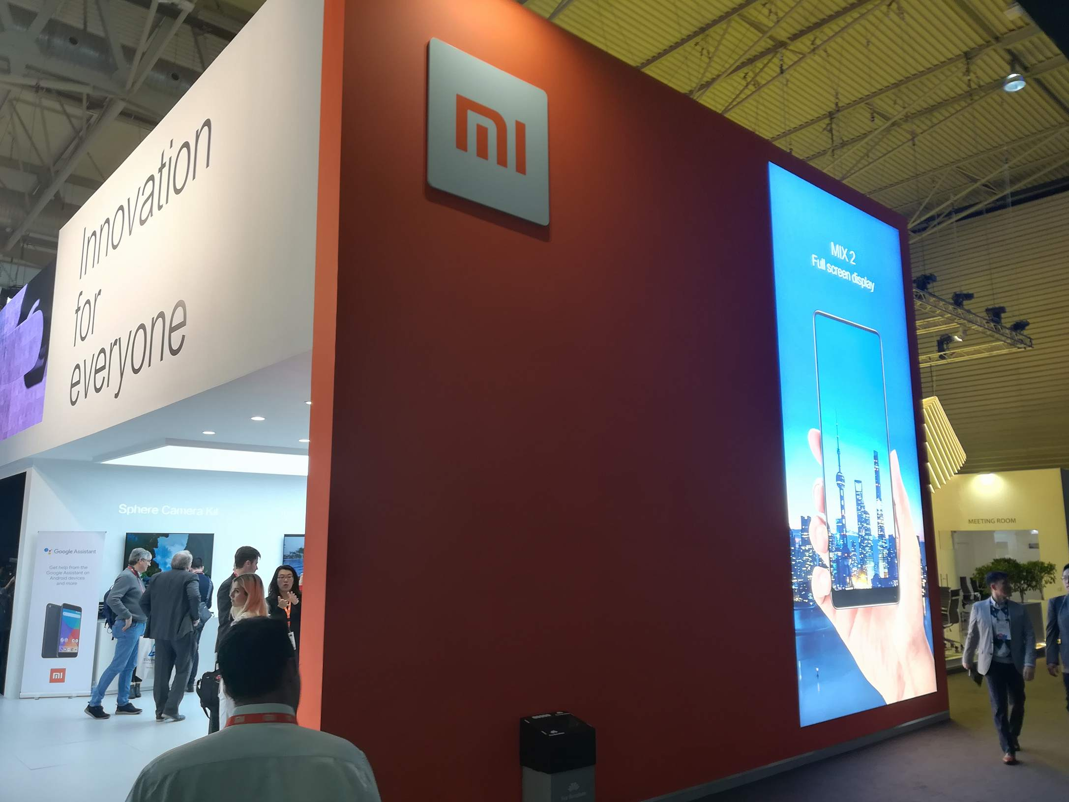 Xiaomi MWC 2018 - Stand (2)