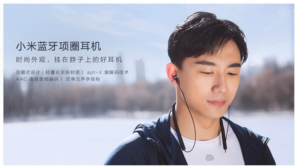 Xiaomi Mi Collar Bluetooth Headset - Auriculares inalámbricos deportivos