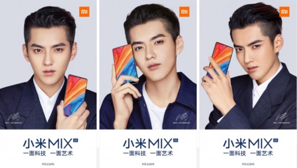 Nuevos pósteres oficiales del Mi MIX 2S