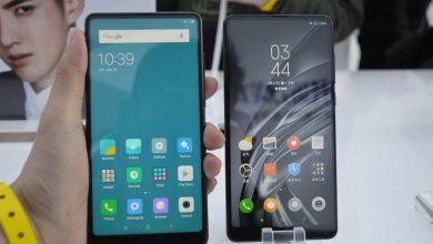 Xiaomi Mi MIX - Comparativa Frontal