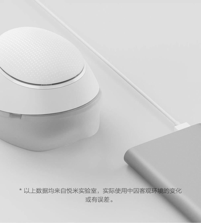 Máscara Xiaomi Mijia Honeywell - Carga USB