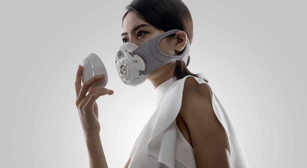 Máscara Xiaomi Mijia Honeywell - Integrado con un ventilador de alta potencia