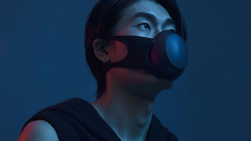 Máscara Xiaomi Mijia Honeywell - Aspecto oscuro