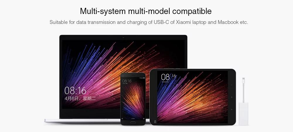 Xiaomi USB Type-C to Mini DisplayPort - Compatibilidad