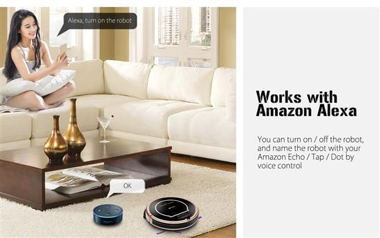 Aspiradora Haier XShuai T370 Amazon Alexa
