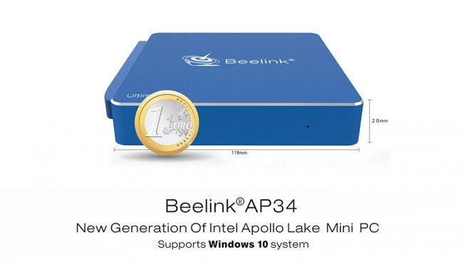 Beelink AP34 Mini PC - Software