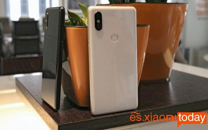 Xiaomi Mi MIX 2S con Android P